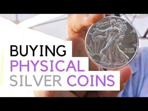 Silver Coins - How To Buy Physical Precious Metals - E.U
