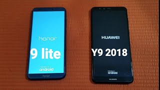 Huawei Y9 ( 2018 ) vs Huawei Honor 9 lite - Speed Test!!