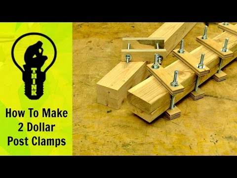 How to make 2 dollar clamps