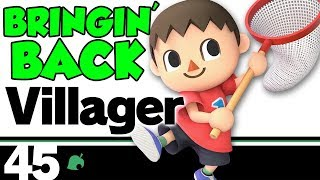 Super Smash Bros Ultimate TRAINING - Bringing Back Villager SSB Wii U FOR GLORY