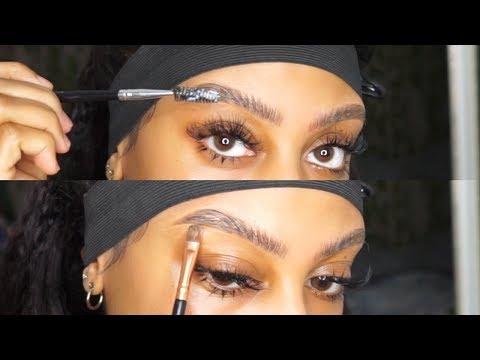 ♡ Updated Eyebrow Tutorial | Soap Brow Technique ♡