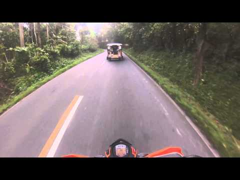 KTM Duke 200 Lucena to Lucban Quezon