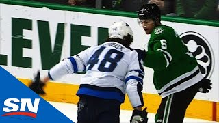 Tensions Boil Over As Brendan Lemieux Fights Connor Carrick