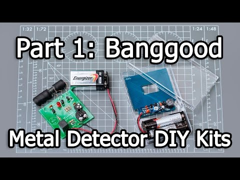 Metal Detector DIY Kits - Part 1/3 - haoDIY (Banggood - PID 983614)
