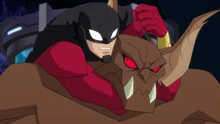 Man-Bat Saves Red Robin!