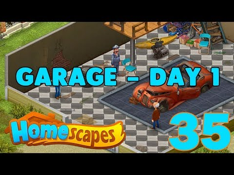 HOMESCAPES STORY WALKTHROUGH - PART 35 GAMEPLAY - ( IOS | Android )