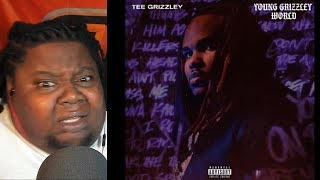 TEE GRIZZLEY SINGING!!!! Tee Grizzley - Young Grizzley World (ft. YNW Melly & A BOOGIE)REACTION!!!