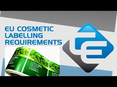 Cosmetics labelling requirements EU (Regulation 1223/2009)
