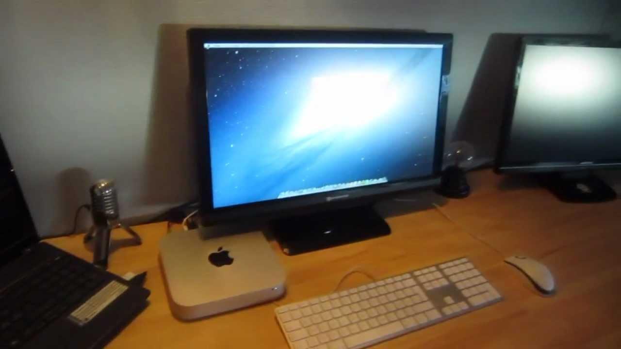 how to turn on mac mini