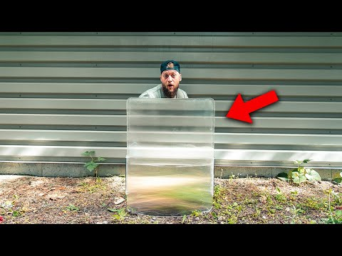 Testing a REAL Invisibility Shield!! (How Good is it?) - UNUSUAL