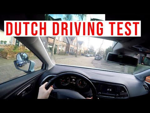 How to pass your Dutch driving test (English)