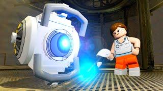 LEGO Dimensions A Portal 2 Adventure All Cut Scenes & Ending (Portal 2 Level Pack)