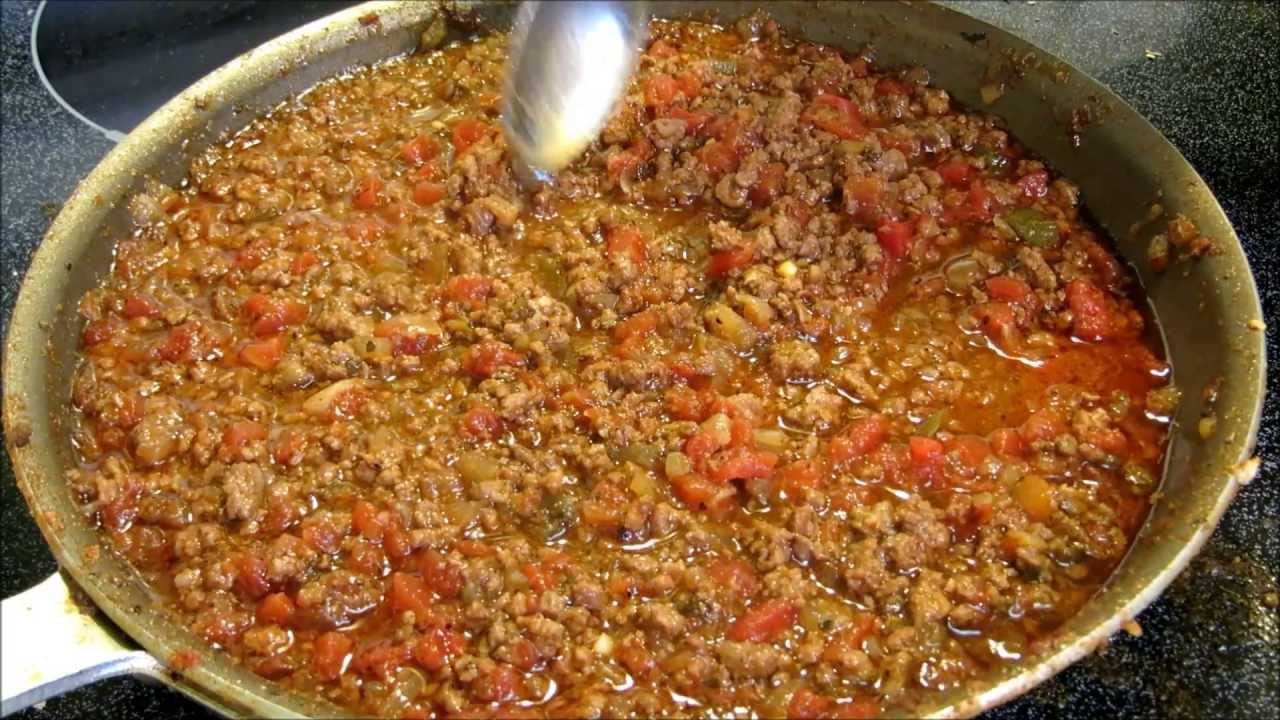 Best Homemade Hot Dog Chili Recipe
