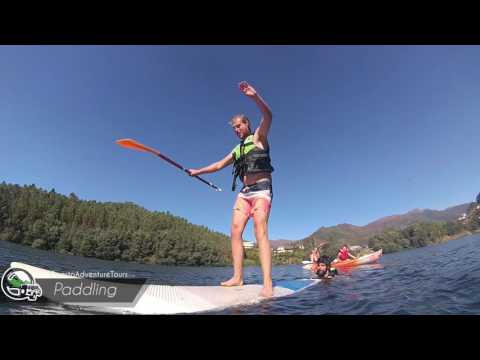 Your adventure in Porto  STANDUP PADDLE  Geres National Park