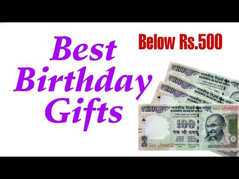 Below Rs 500 Best Birthday Gift For Friends Youtube