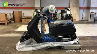 NIU N1S 10000000 KM Unboxing, Auspacken, Aufbau, Test, E-Scooter, E-Bike, Elektroroller