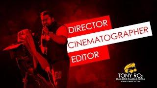 Video Editor and DOP Tony RCs Showreel 2016