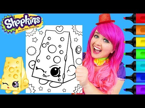 coloring-shopkins-chee-zee-crayola-coloring-page-prismacolor-paint-markers-|-kimmi-the-clown