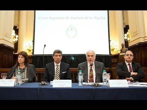 VII Conferencia Nacional de Jueces: panel Federalismo y Poder Judicial