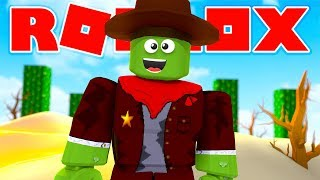 Roblox - WILD WEST SHOOTOUT WITH THE SHERIFFS!