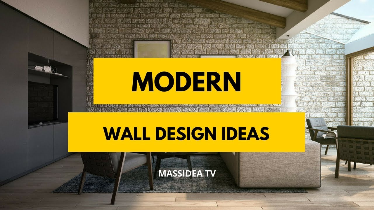 35+ Latest Trends Modern Wall Design Ideas for Your Room - YouTube