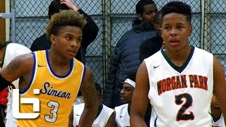 Evan Gilyard vs Charlie Moore: Top Chicago Guards, Intense Simeon-Morgan Park Rivalry Game!