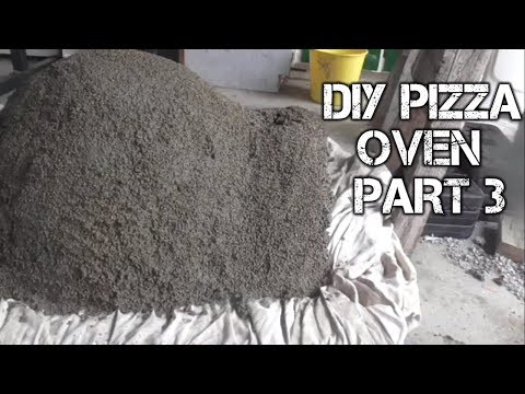 DIY WOOD FIRED PIZZA OVEN BUILD PART 3