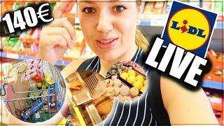 140€ LIDL FOOD HAUL I Ich nehme euch mit zu LIDL I MC