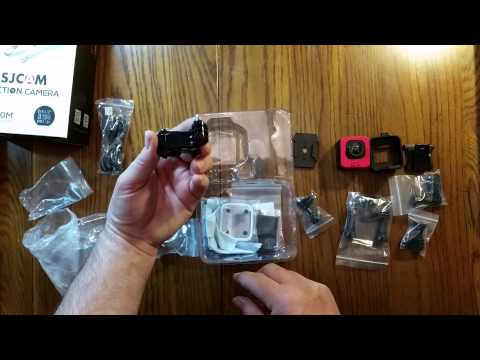 SJCAM M10 Mini Cube Style Sports Action Driving Camera - Unboxing