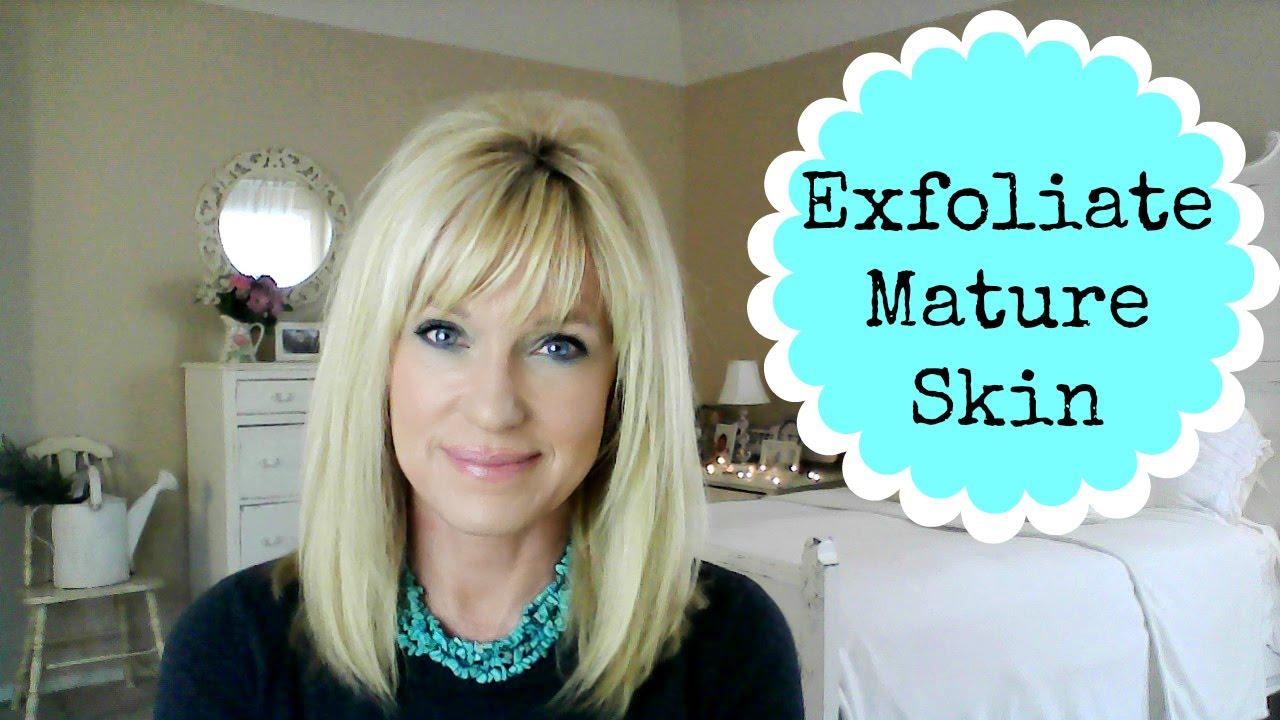 Exfoliate Mature Skin! My Favorite Scrubs!