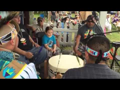 Native American Drums - New Orleans Jazz & Heritage Festival 2015