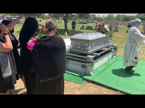 Ramon Marin's Burial - Queen of Heaven Cemetery