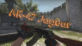 cs go ak 47 jaguar field tested showcase gameplay