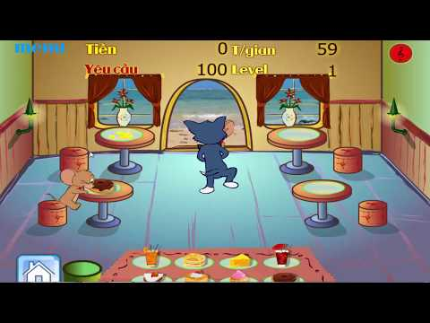 Games kids -  Tom become a server in the restaurant