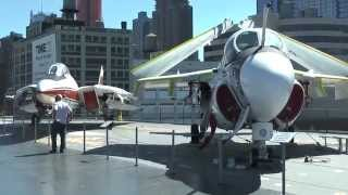 USA - New York - Intrepid Aircraft Carrier Museum