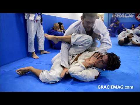Rômulo Arantes Neto e Roger Gracie em treino de Jiu-Jitsu na GB Parque Olímpico