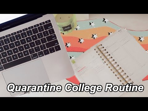 College Day In My Life: Online School Routine Quarantine Edition