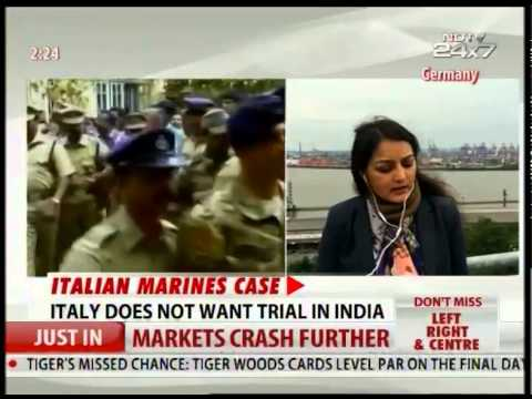 Italian Marines Case: Italy appeals to UN to stop India from taking action