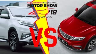 #KLIMS2018: Perang SUV Proton vs Perodua , yang mana akan menang di pasaran?