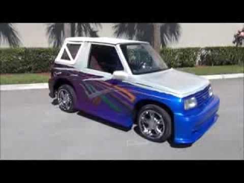 custom 1991 geo traker 561436 3131 for sale youtube. Black Bedroom Furniture Sets. Home Design Ideas