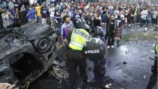 VANCOUVER STANLEY CUP RIOT JUNE 15 2011 COPYRIGHT E.B. ENTERPRISES RIGHTS RESERVED BCNEWSVIDEO