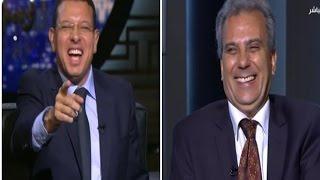 """شاهد .. """"رئيس جامعة القاهرة"""" لـ""""مذيع البيت بيتك"""": هستأذن علشان بنام بدري"""