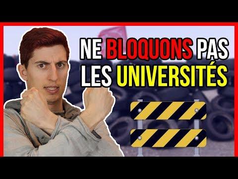 DO NOT BLOCK UNIVERSITIES!