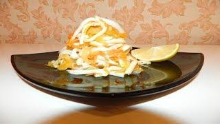 100% Диетическое блюдо Новогодний кальмаровый салат по Дюкану Рецепт ПП ЗОЖ Как приготовить быстро