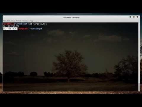 Nmap Tutorial for Beginners - 2 - Scanning Multiple Targets