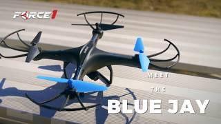U45W Blue Jay Drone with Camera Test Flight