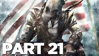 HAYTHAM FIGHT in ASSASSIN'S CREED 3 REMASTERED Walkthrough Gameplay Part 21 (AC3)