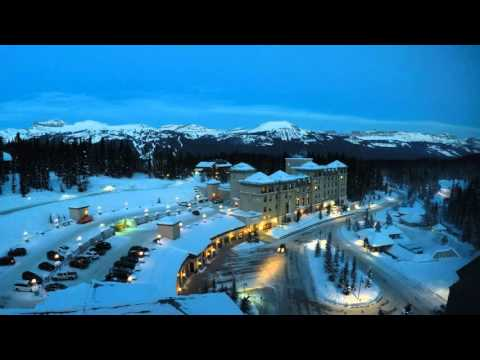 Timelaps Chateau Lake Louise Mountain View Room