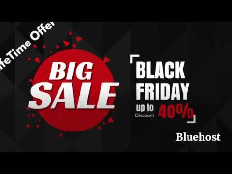 [ 60%OFF ] Bluehost Black Friday Cyber Monday Offer 2017