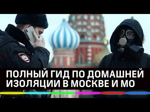 Москвичей и жителей Подмосковья обязали сидеть дома. Что запрещено с понедельника - полный гид
